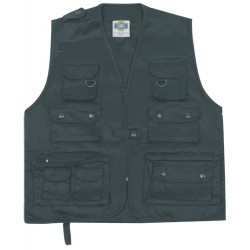 GILET MULTIPOCHES NEUTRE