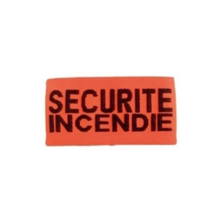 BRASSARD SECURITE INCENDIE