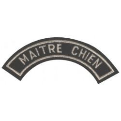 ECUSSON MAITRE CHIEN