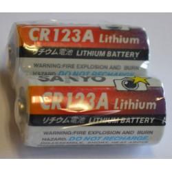 PILES LITHIUM CR123A